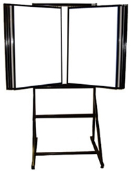60 Title Display Rack w/ Floor Stand