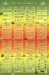 Art of Rolling weed, pot, reefer, marijuana, cannabis