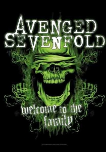 Avenged Sevenfold Fabric Poster Flag    HFL1165