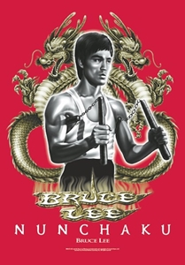 Bruce Lee Fabric Poster Flag   HFL0401