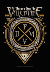 Bullet For My Valentine Fabric Poster Flag