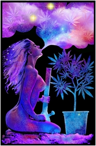 Cannabliss Blacklight   wp, weed, cannabis, marijuana,