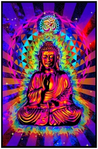Cosmic Buddha Blacklight   wp