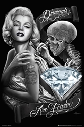 DGA Diamonds Are Forever Marilyn, David gonzalez