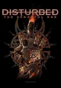 Disturbed Fabric Poster Flag