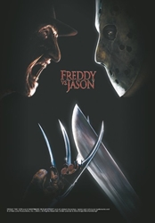 Freddy vs Jason Fabric Poster Flag