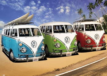 GIANT SIZE VW Campers