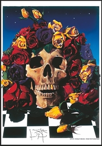 Grateful Dead Fabric Poster Flag HFL0418