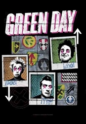 Green Day Fabric Poster Flag