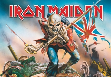 Iron Maiden Fabric Poster Flag   HFL0663