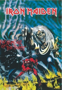 Iron Maiden Fabric Poster Flag   HFL0049
