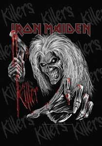 Iron Maiden Fabric Poster Flag     HFL1213
