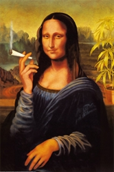 Mona Lisa Smoking