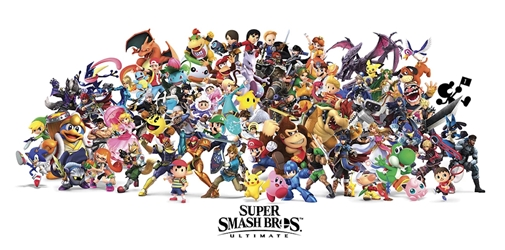 Super Smash Brothers 12x24, ss120