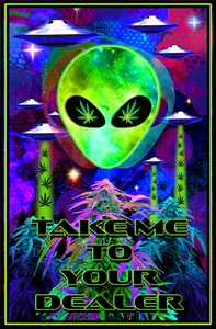 Take Me To Your Dealer Blacklight    wp