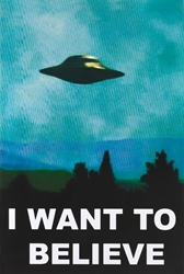 X-Files I Want To Believe ufo, wp
