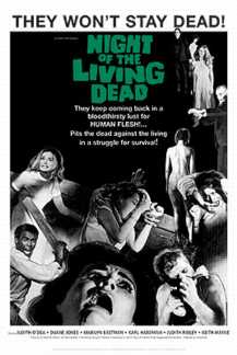 Night of the Living Dead horror